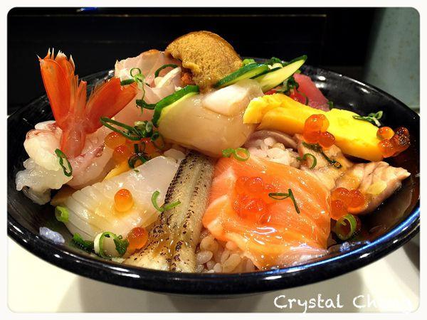 橋壽司 新鮮美味華麗度依舊破錶的好超值優秀海鮮丼飯!