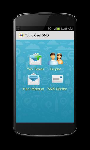 Kişiye Özel Toplu SMS