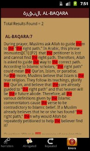TheQuran.com- screenshot thumbnail
