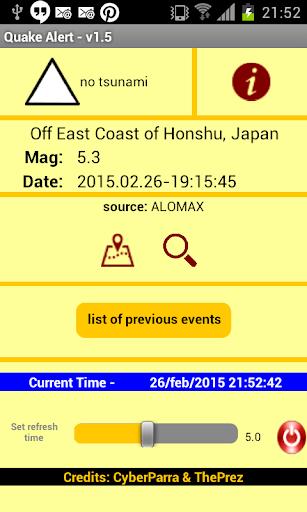 Quake Alert