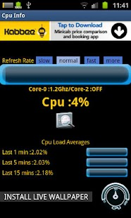 Cpu Info - screenshot thumbnail