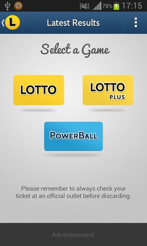 Keno results sa lotteries