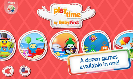 Play Time 12 Kids Games in 1
