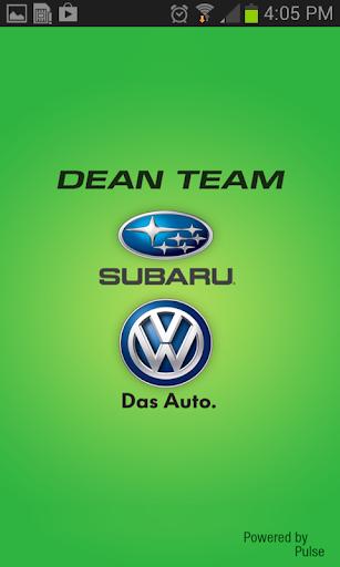 Dean Team Subaru Volkswagen