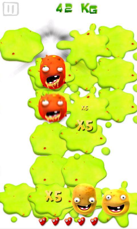 Mash Zombie Potatoes- screenshot