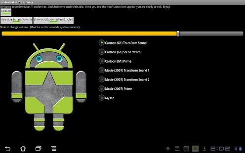 Androidabot Transformer - screenshot thumbnail