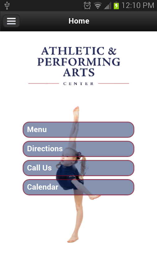 Athletic and Performing Arts- screenshot