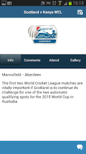Cricket Scotland - screenshot thumbnail