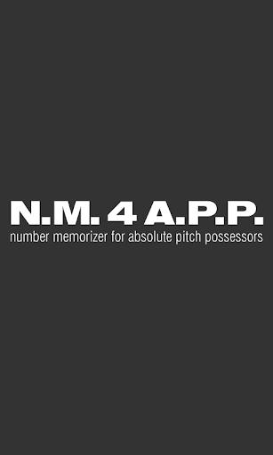 nm4app 数字暗記