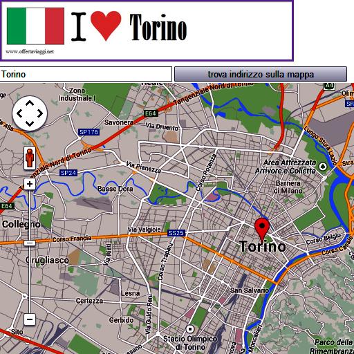 Torino map