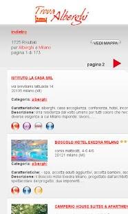 Trova Alberghi- screenshot thumbnail