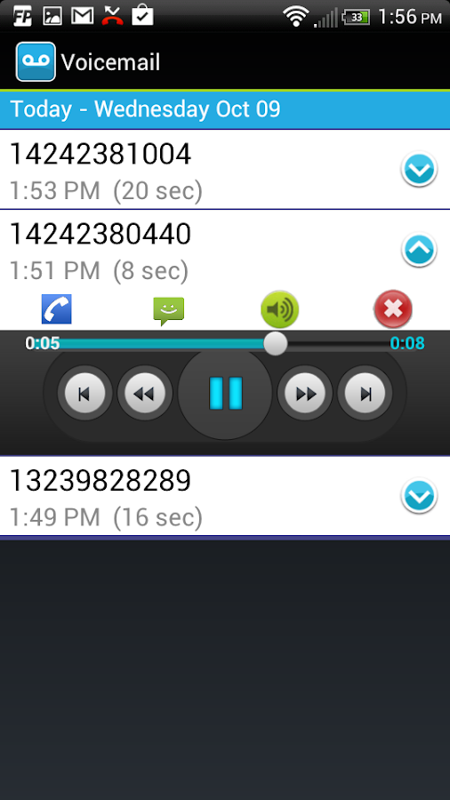 how to call voicemail freedom