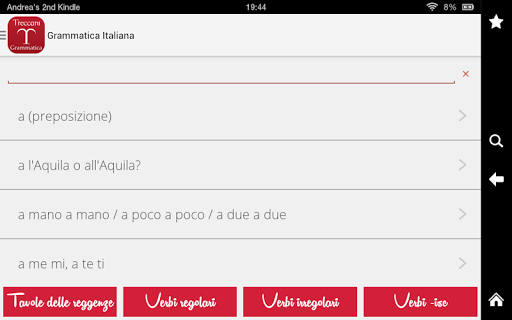 La Grammatica Italiana screenshot
