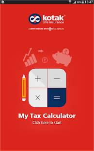 My Tax Calculator- screenshot thumbnail