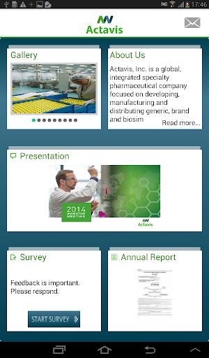 【免費財經App】Actavis IR-APP點子