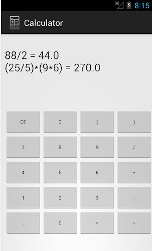 Tape Calculator