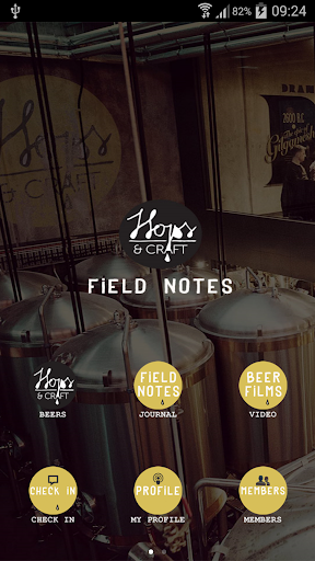 Hops Craft Field Notes
