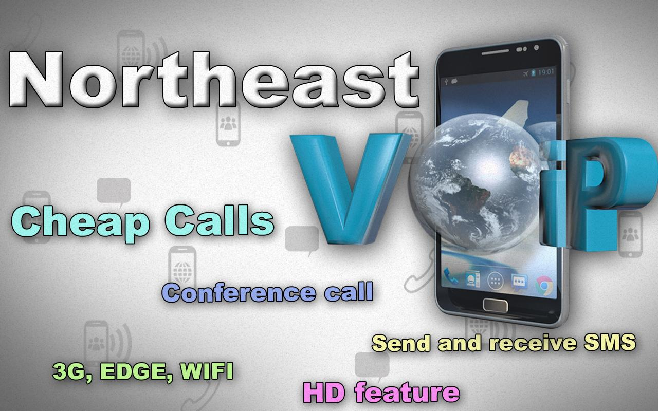 Northeast Voip Android app - screenshot