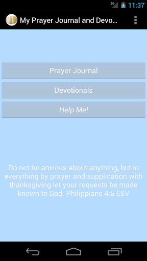 My Prayer Journal and Devotion