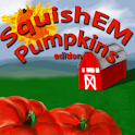 Squish 'Em Pumpkins logo