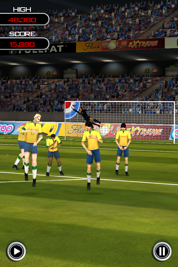 Flick Soccer! - screenshot
