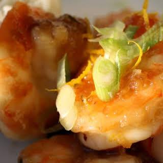 Orange Peel Shrimp.
