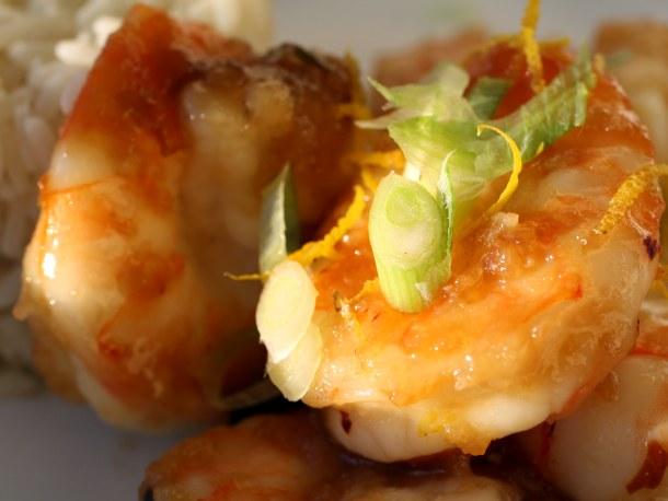 Orange Peel Shrimp Recipe