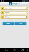 Screenshot of Pioneer Investments ČR