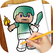 Free Learn to Draw Minecraft APK for Windows 8