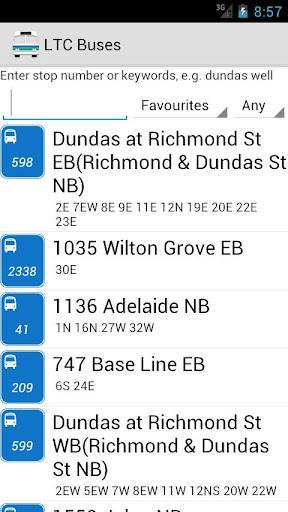 London Transit LTC Buses