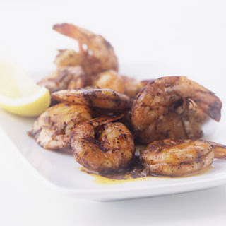 Grilled New Orleans-Style Shrimp.