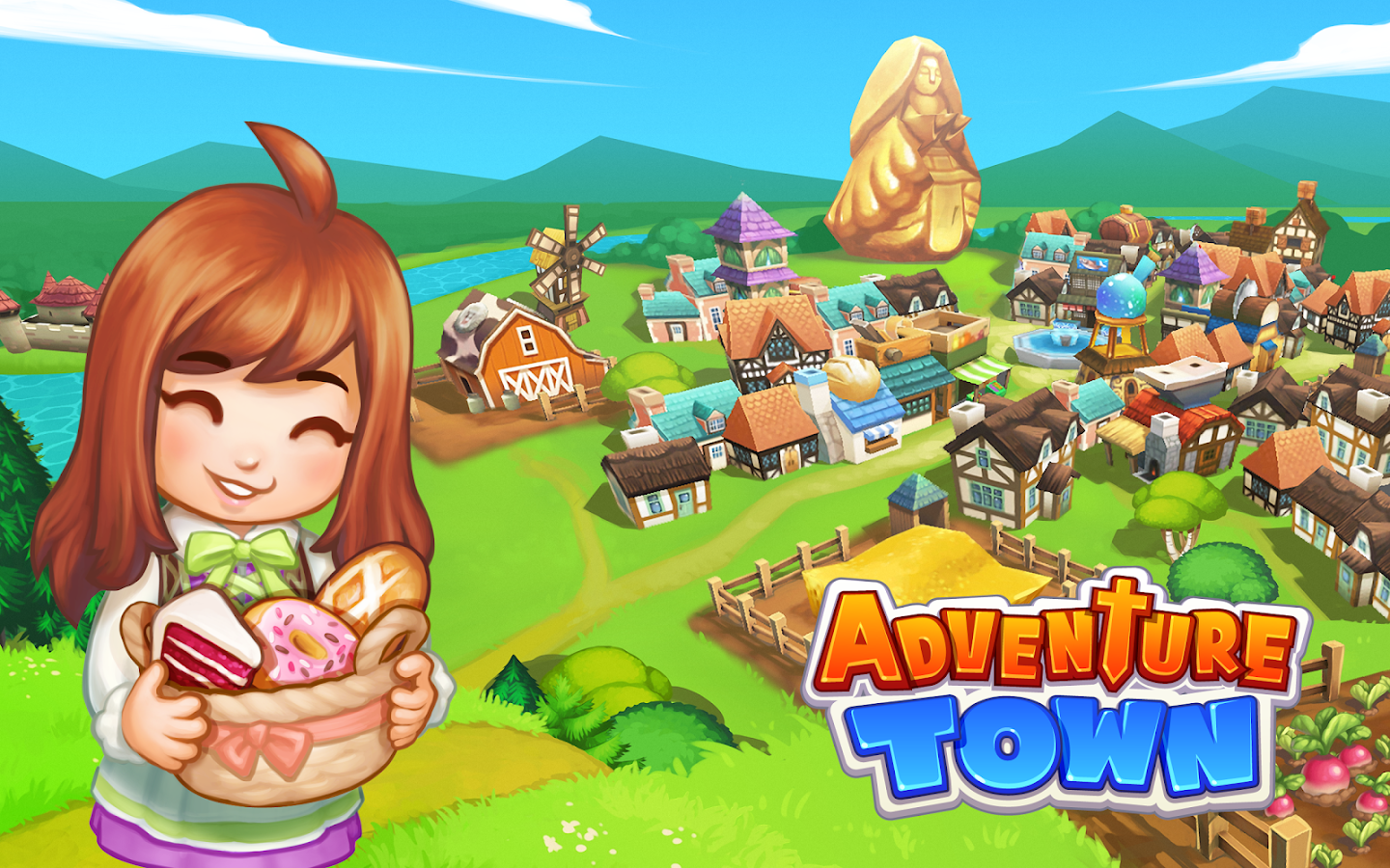 Screenshots of Adventure Town for iPhone