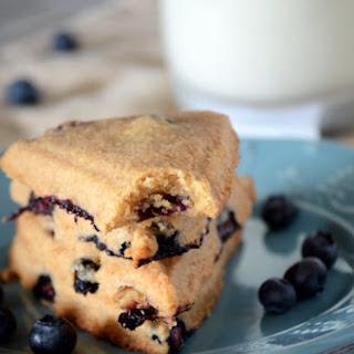 Healthy Blueberry Scones.