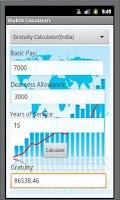 Screenshot of Finance Calculators