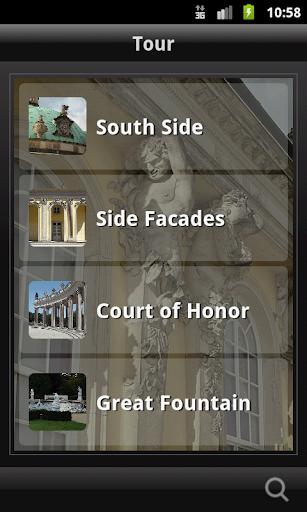 Rococo in Sanssouci