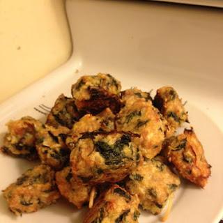 Chicken Spinach Meatballs.