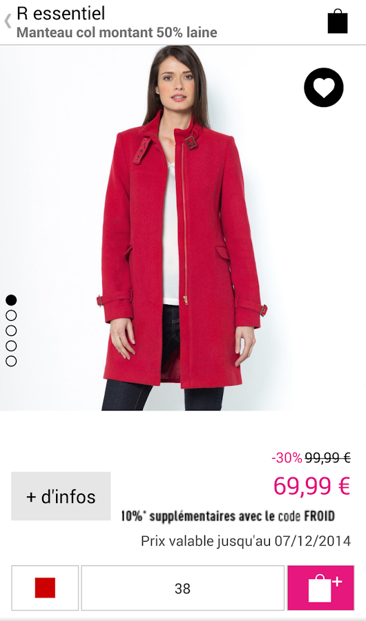 La Redoute FR - Shopping - screenshot