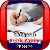 Article Writing Success