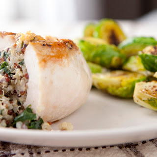 Quinoa Stuffed Chicken Breasts.