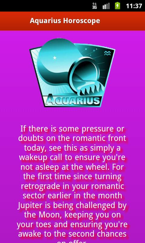 Erotic Horoscope - screenshot