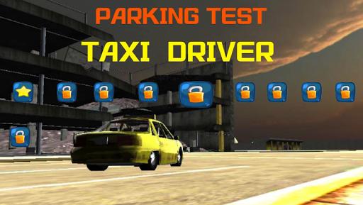 Car Driving Cab Parking 3D