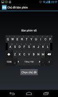 Screenshot of Zing Key: gõ tiếng Việt