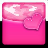 THEME - Pink Heart Camo