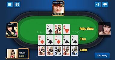 Screenshot of Game Bai Online Tien Len Phom