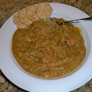 Mom's Split Pea Soup.