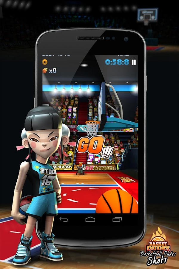Basketball Dudes Shots - screenshot