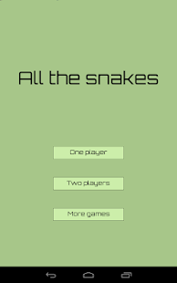 All the snakes- screenshot thumbnail
