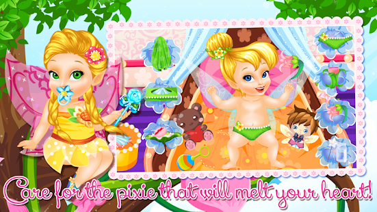 Baby Tinkerbell Care- screenshot thumbnail