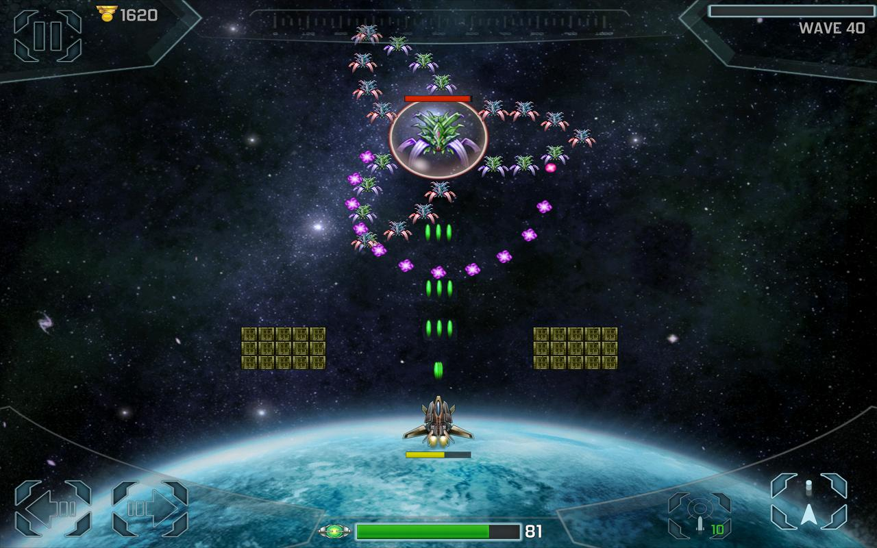 Space Cadet Defender Invaders- screenshot