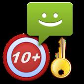 10 SMS + Pro Key